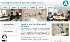 Attitudes Viewing Website